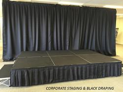 Corporate Stage & Drape