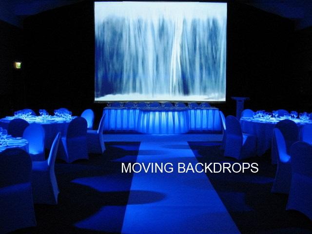 Moving Backdrops