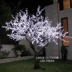 3.5mtr White Realistic Tree
