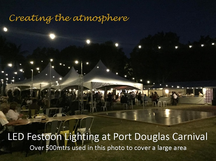 Port Douglas Festoon Lighting