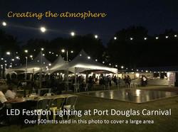 Port Douglas Festoon Lighting