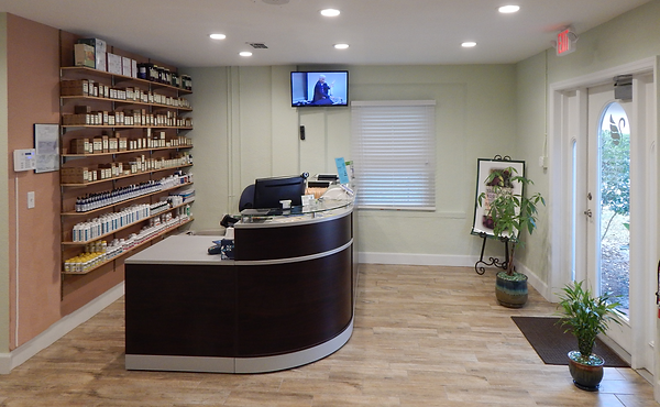 Front office at Lakeland Natural Health