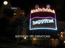 Jupiters 21st Birthday