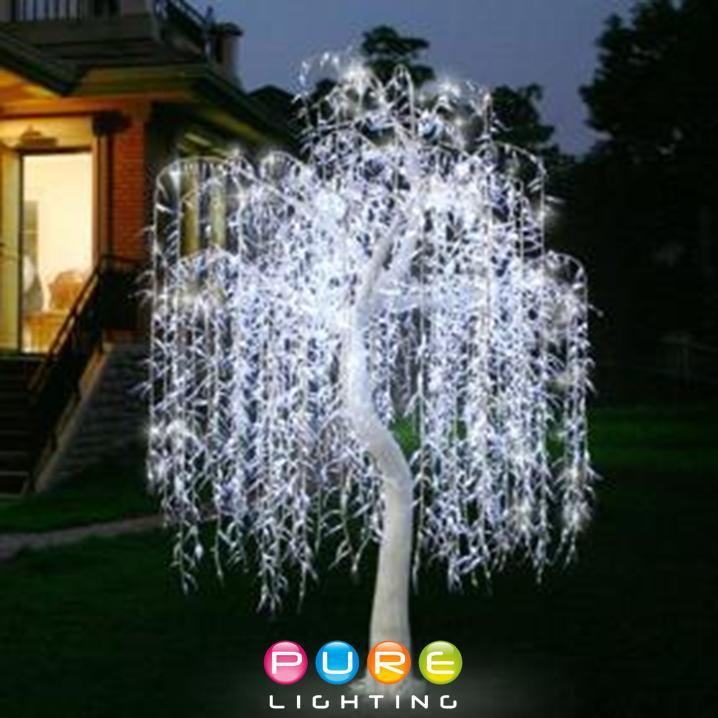 2.4mtr Willow Tree White