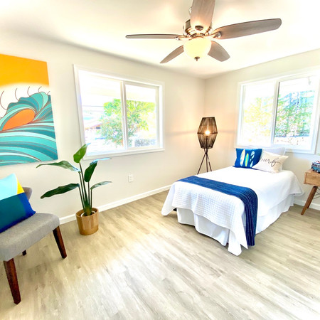 Staged Bedroom in Kailua