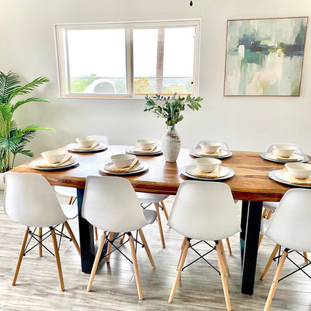 Staged Dining Room in Kunia