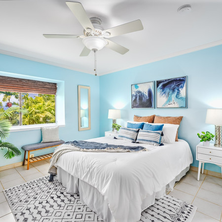 Staged Bedroom in Kaneohe