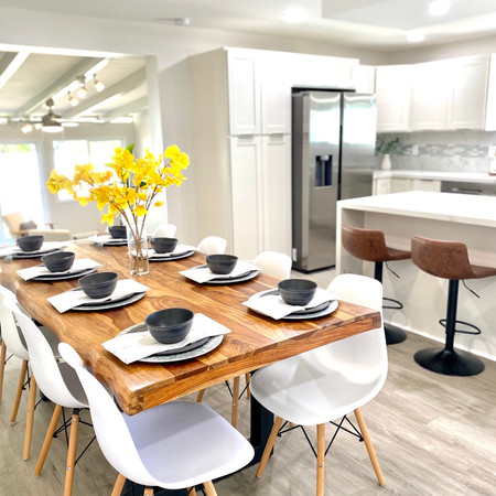 Staged Dining Room in Kailua