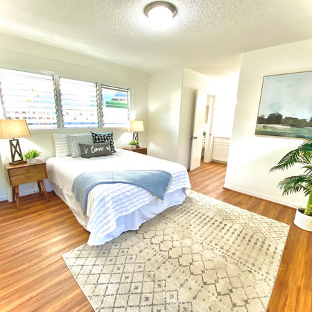 Staged Bedroom in Aiea