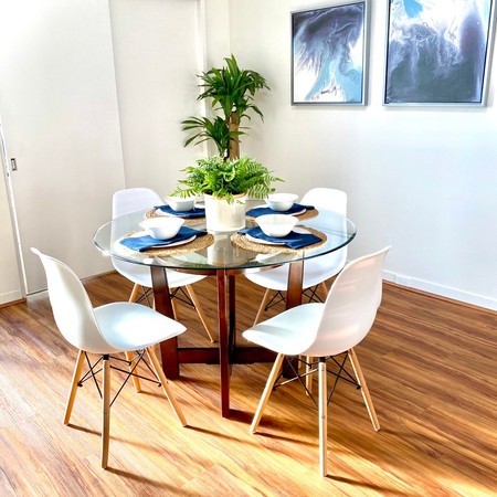 Staged Dining Room in Aiea