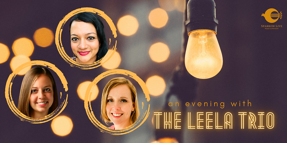 An Evening with the Leela Trio