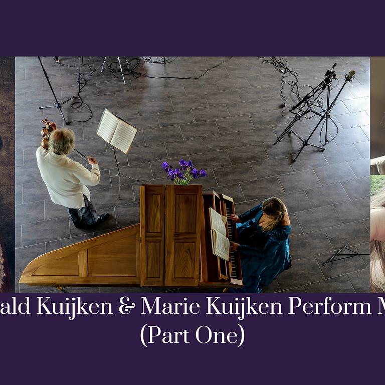 Sigiswald Kuijken & Marie Kuijken Perform Mozart, Part One