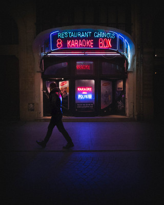 Late night in Châtelet