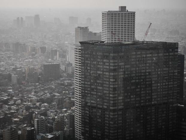 Rainy day in Shinjuku