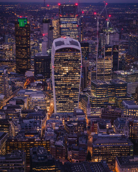 City, from the Shard