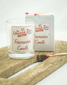 Edward Firecracker Candle and matches.jp