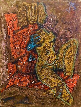 M F Husain (1969)