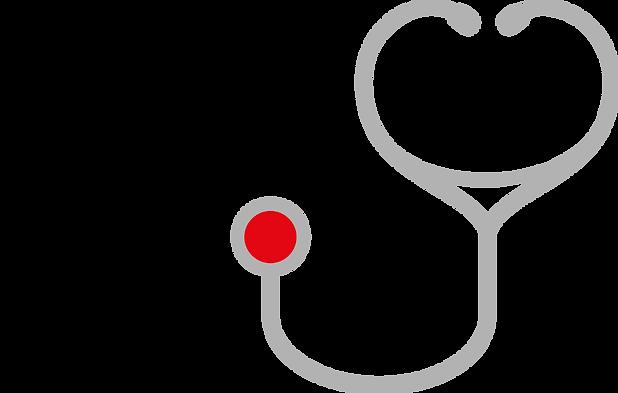 Logo mit Stetoskop rot.png