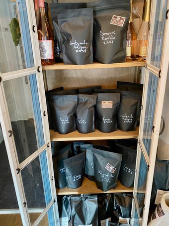 KaffeeWerkstadt eigene Röstungen