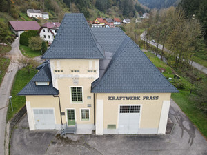 Ein neues Dach fürs Kraftwerk