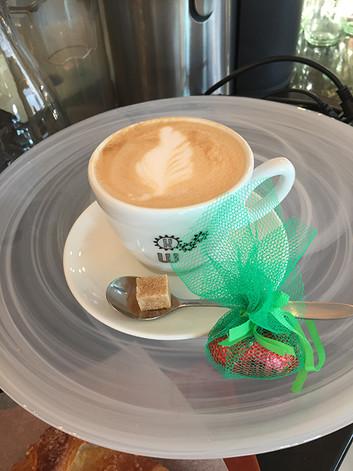 KaffeeWerkstadt Cappuccino