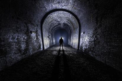 Rail Tunnel, Oxford, UK