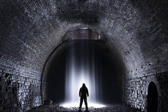 Morlais Tunnel, Wales