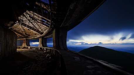 Buzludzha Monument Viewing Deck, Bulgari