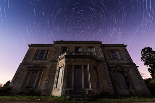 Crookham Court Startrails, UK