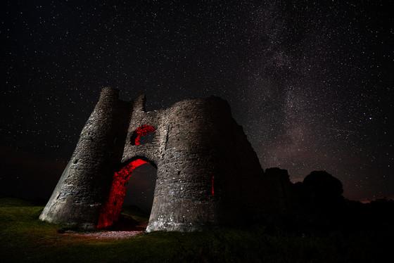 Pennard Castle, Gower, Wales