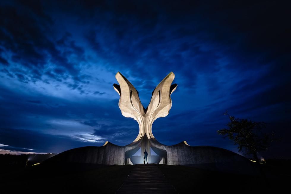 Stone Flower, Jasenovac, Croatia.jpg