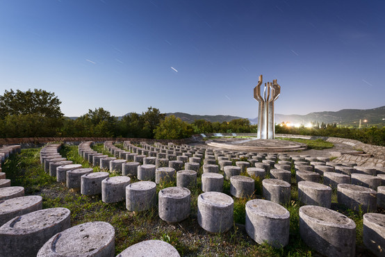 Monument to the Fighters of Ljesanke Nah
