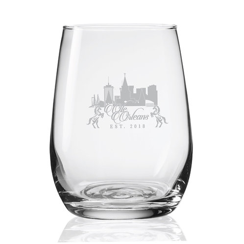 Olé Orleans Tasting Wine Glass