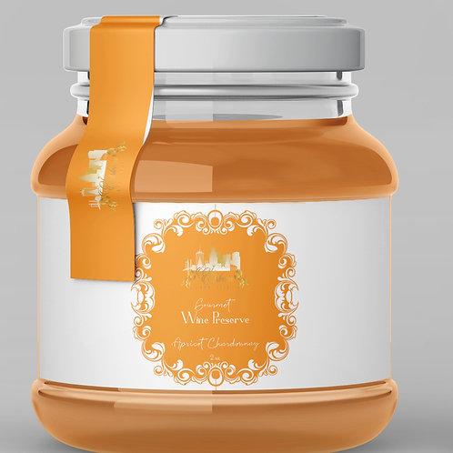 Apricot Chardonnay Gourmet Wine Preserve