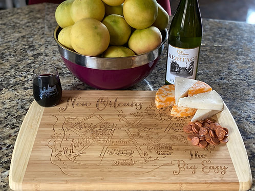New Orleans Cutting/Cheese Board (Large)