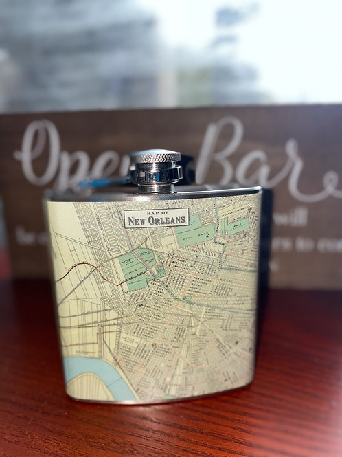 New Orleans Flask