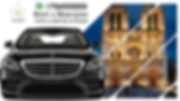Rent a car with driver in Paris Mercedes