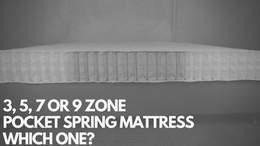 3,5,7 Zone Pocket Spring