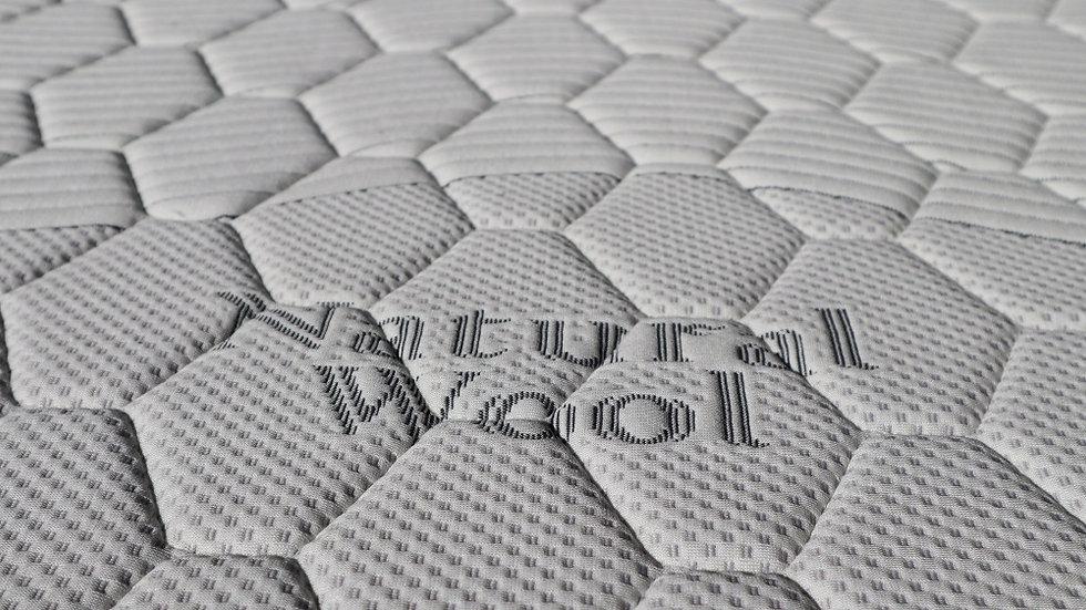 Long Single Mattress Latex Series 7 (Latex+Natural Wool)
