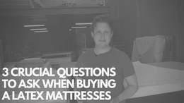 Inside a $4500 Latex Mattress