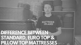 Euro and Pillow Top Mattress Difference
