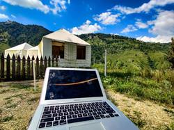 Take your laptop anywhere