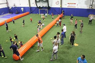 Dodgeball sports parties