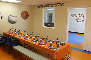 Sports Birthday Parties