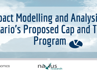 Impact Modelling and Analysis of Ontario's Proposed Cap and Trade Program