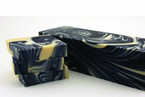 Black forest cold processed soap