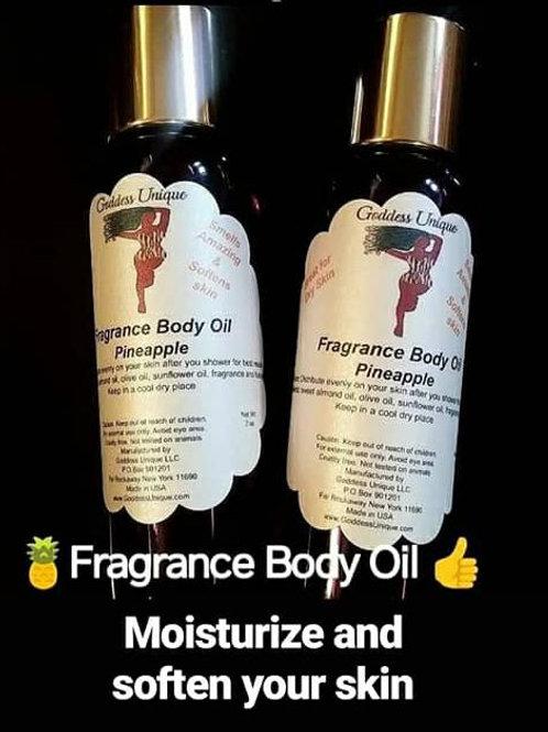 Goddess Unique Fragrance Body Oil