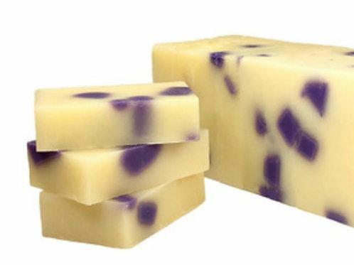 Black Raspberry & Vanilla cold processed soap