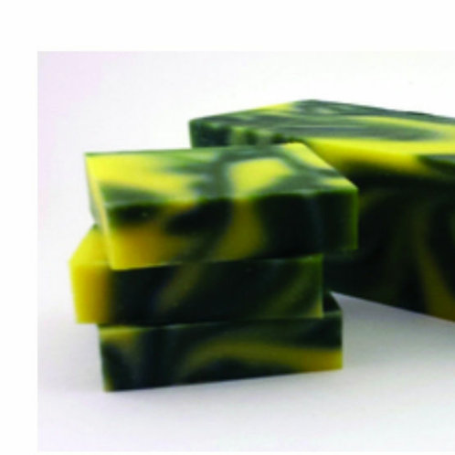 Desert sage cold processed soap