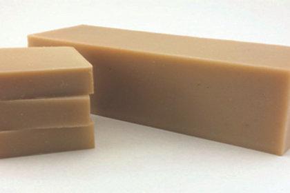 Almond spice cold processed soap